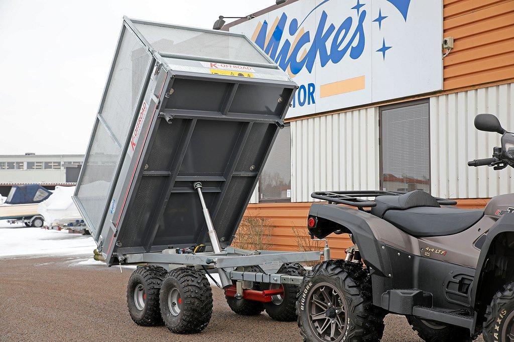 Övrigt K-vagnen ATV/K-offroad - lyxig, tippbar proffsvagn