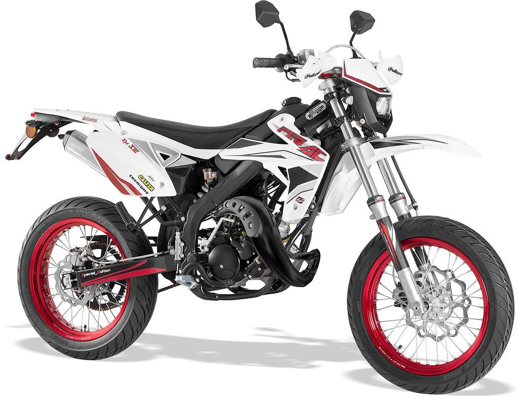 Rieju Drac 50 SM RS White Special Edition
