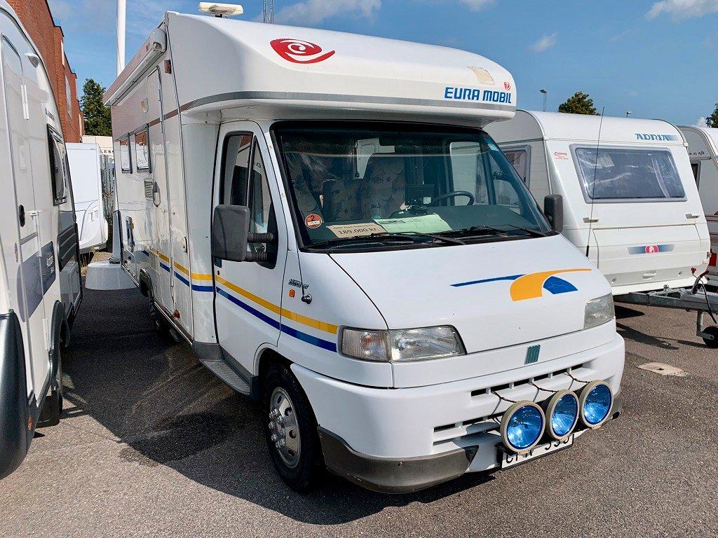 Eura Mobil 612 SB (säljs som gör det själv fordon)