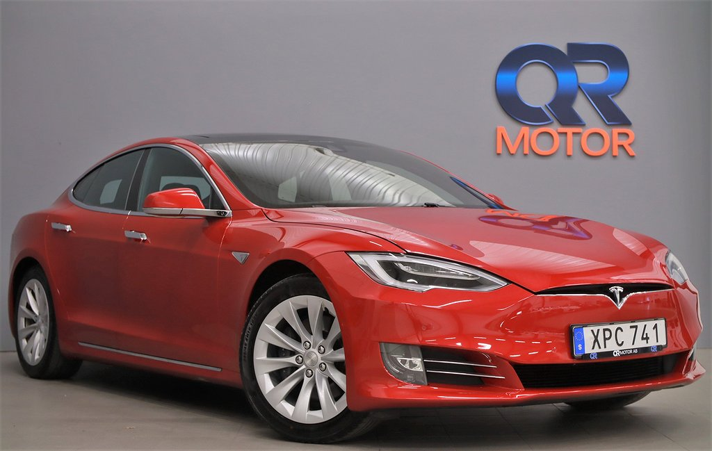 Tesla Model S 75D Facelift AP Luftfj Nybilsgaranti Premium