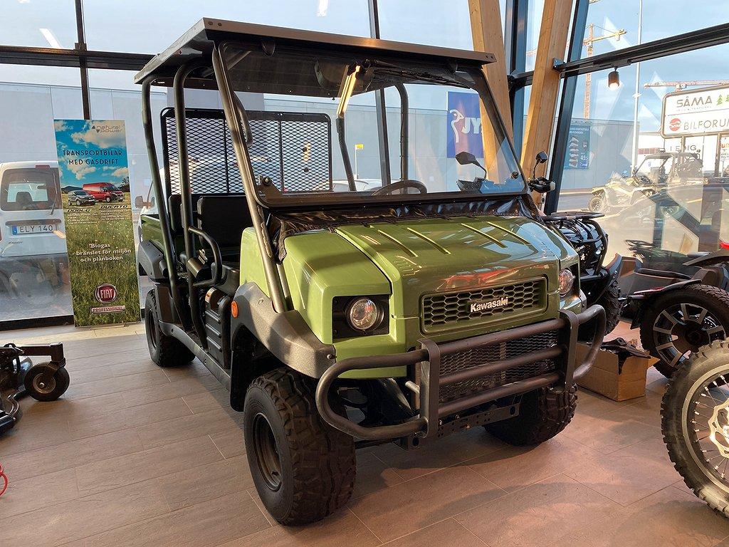 Kawasaki Mule Diesel 4-sits Flak