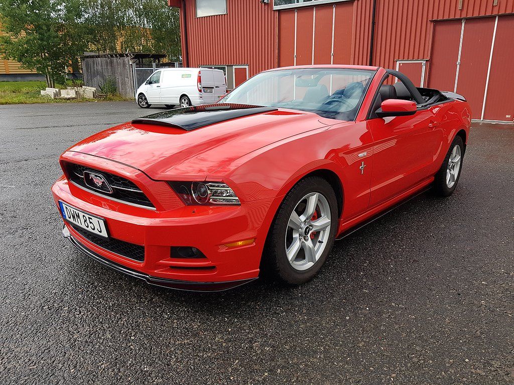 Ford Mustang Cabriolet 3.7 V6 Pony Package