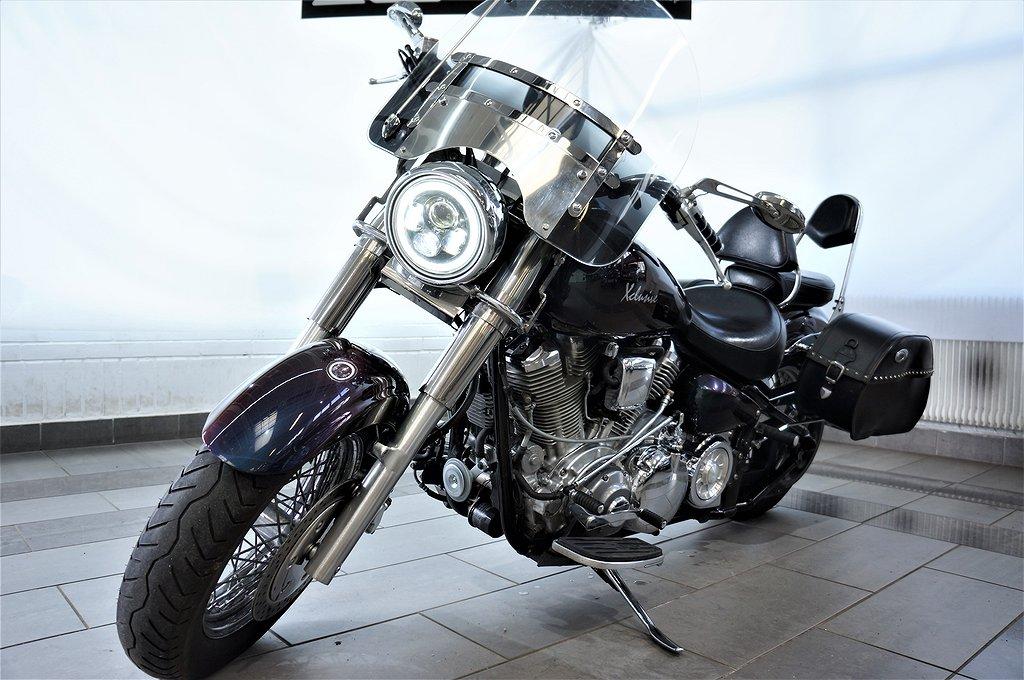 Yamaha Wild Star XV1600A 63HK Motivlack VanceHines