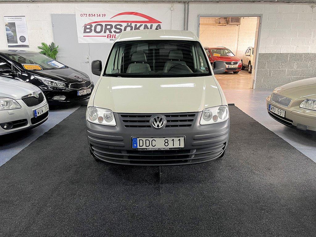 Volkswagen Caddy Skåpbil 1.9 TDI Drag Ny Besiktad 105hk