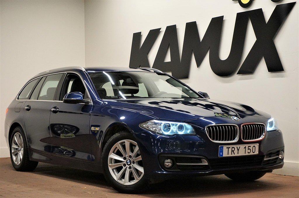 BMW 520 d | xDrive | D-värm | Navi | Skinn | Drag | S&V-hjul