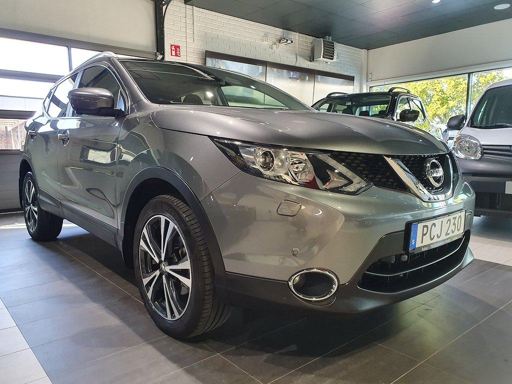 Nissan Qashqai 1.6 DIG-T Euro 6 163hk