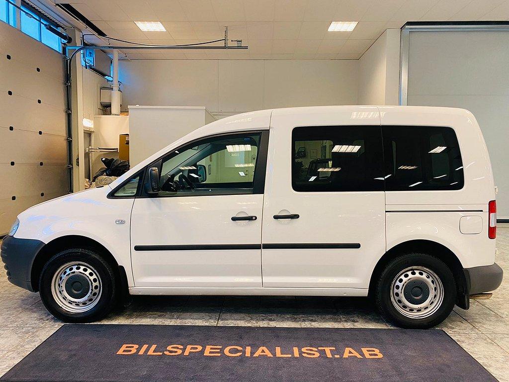 Volkswagen Caddy Life 2.0 EcoFuel 109hk Drag 5-Sits 0%Ränta