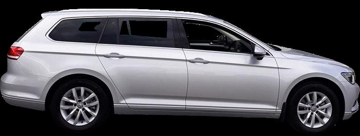 Modellbild av en Volkswagen Nya Passat Sportscombi