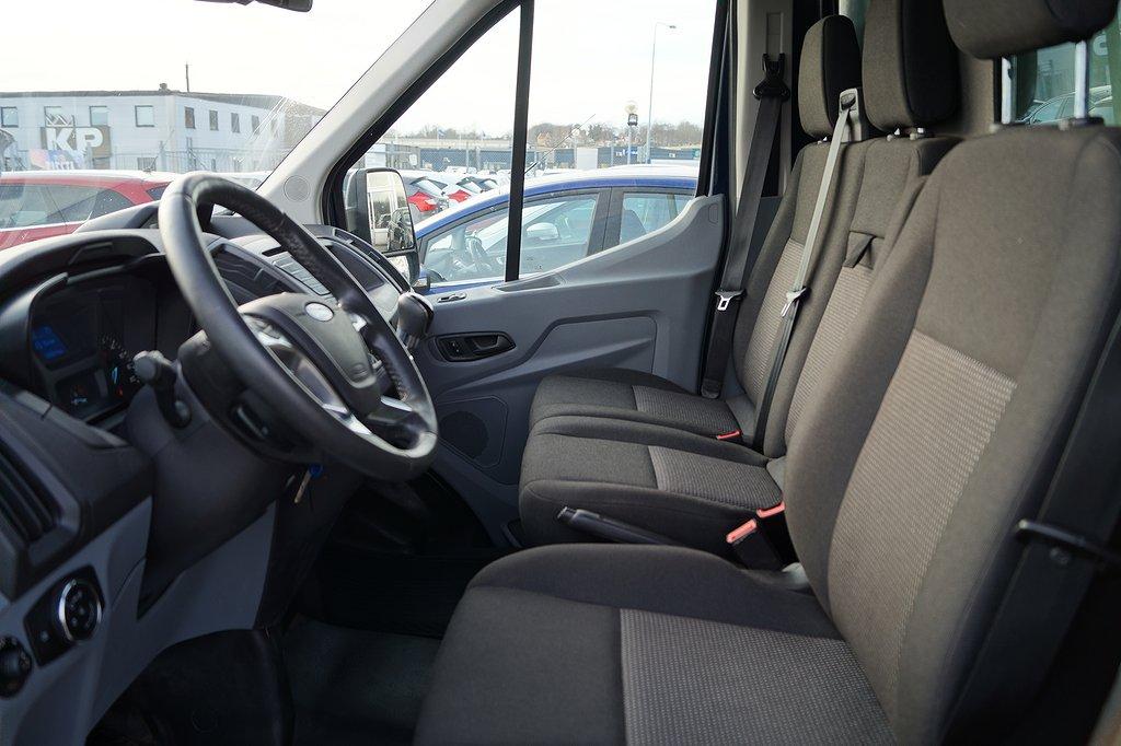 Ford Transit Chassi 310 125hk 2.2 TDCi FWD Trend flak+Kapell