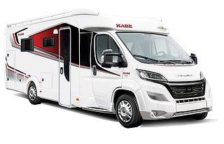 Husbil-halvintegrerad Kabe TRAVEL MASTER CLASSIC 740 T