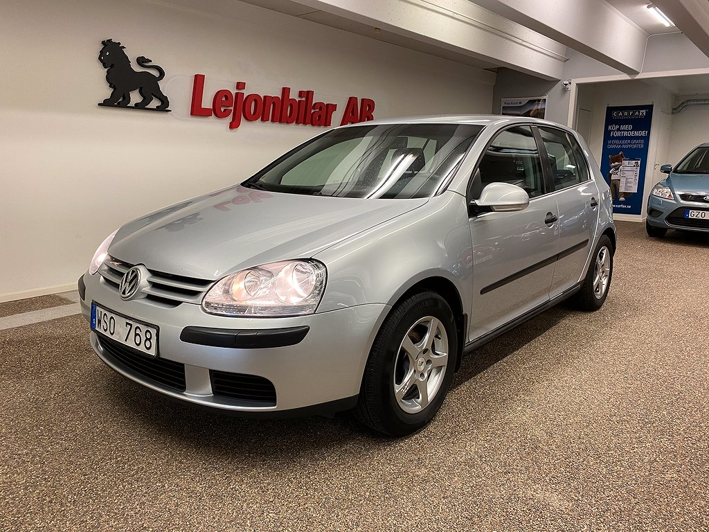 Volkswagen Golf 5-dörrar 1.6 102hk
