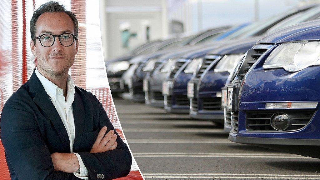 Henrik Littorin, marknadsplatsdirektör på Blocket.