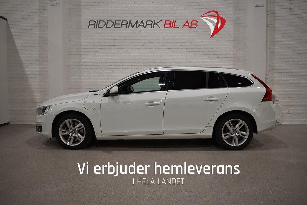 Volvo V60 D6 Plug-in Hybrid AWD Summum VOC D-värm 283hk