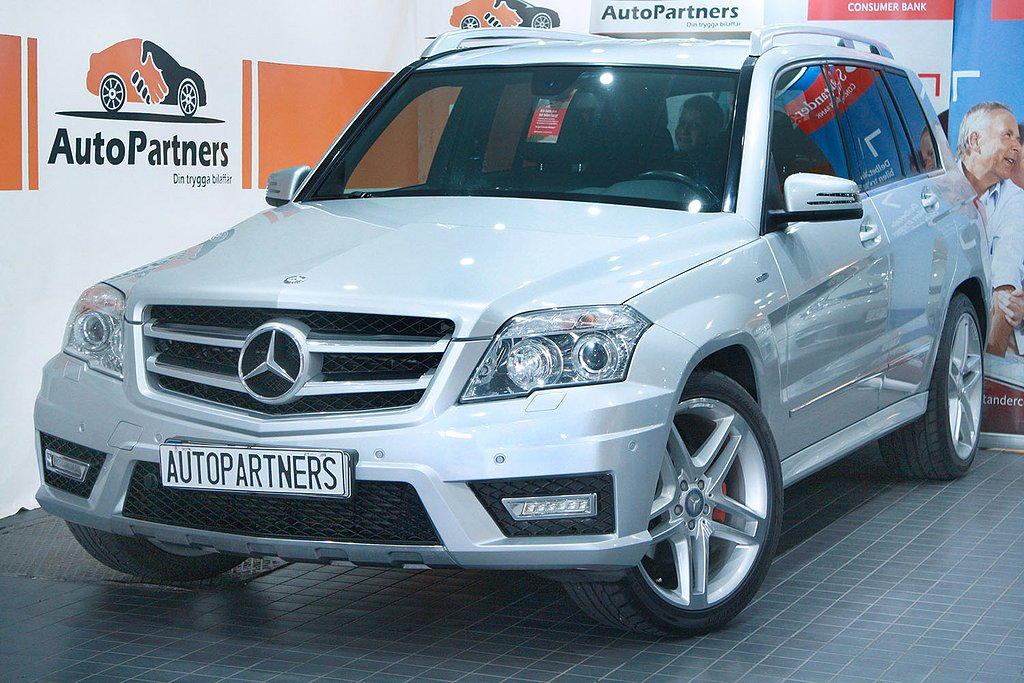 Mercedes-Benz GLK 220CDI 4M BE 7G AMG Plus 170hk