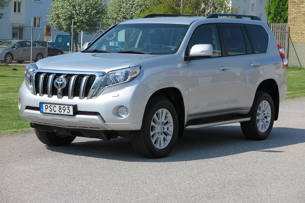 Toyota Land Cruiser 150 2.8 D-4D(177hk/Euro 6) BusinessPlus Safety/Visibility