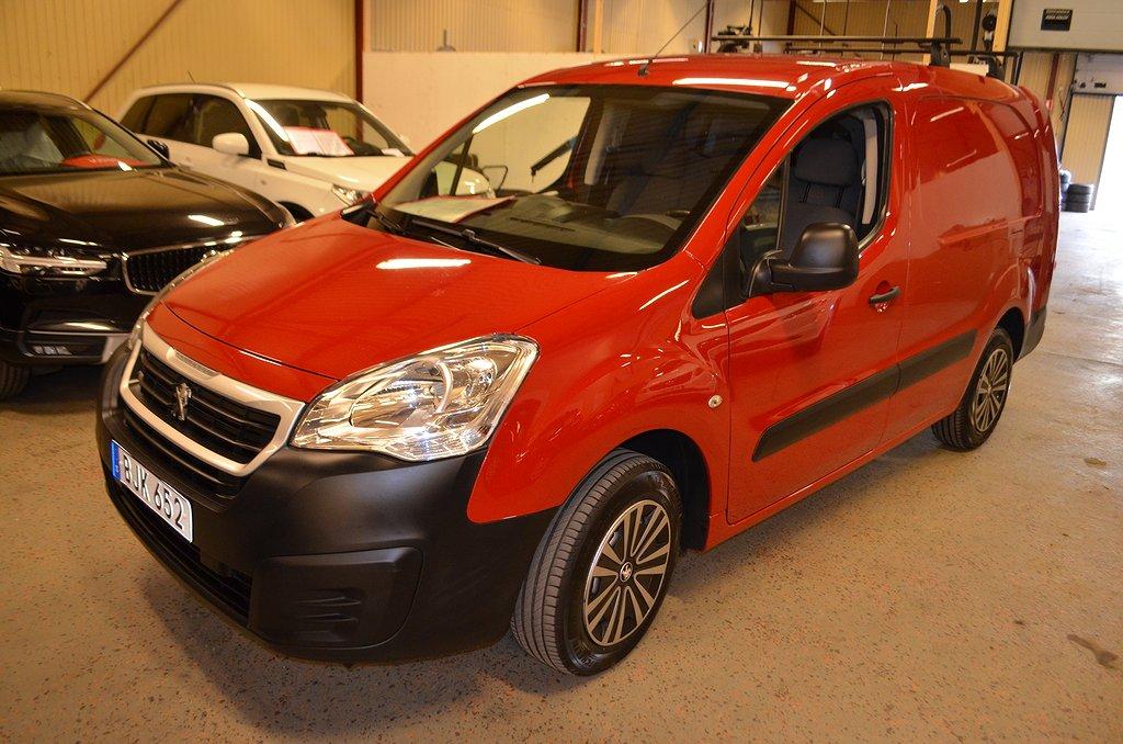 Peugeot Partner Pro 1.6 L2H1 99hk Verkstadsinredning Euro6