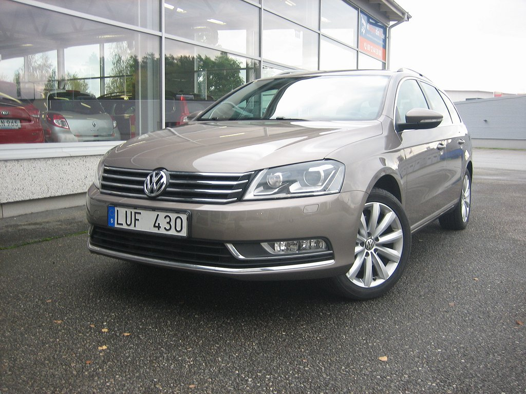 Volkswagen Passat Variant 1.4 TSI EcoFuel Premium 150hk Nybesiktad