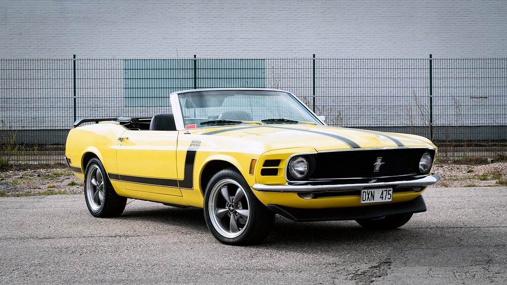 Ford Mustang Cabriolet 4.9 V8 Automat 213hk