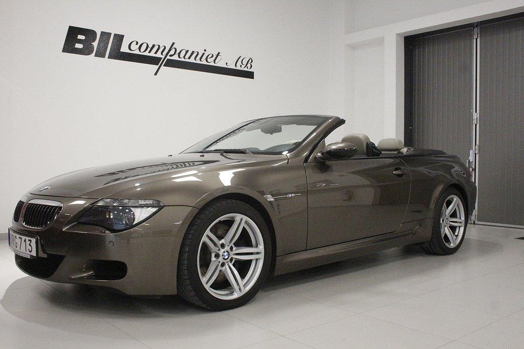 BMW M6 Cabriolet (507hk)