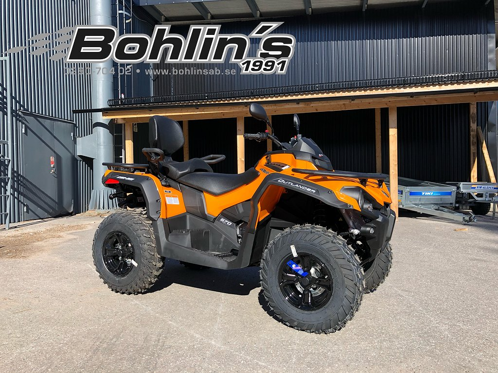 Can-Am OUTLANDER MAX 570 ABS T3 -18