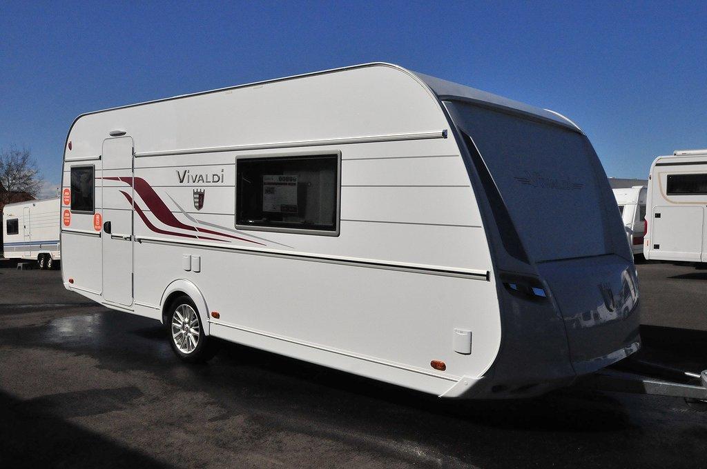Tabbert 550 DF ALDE Queensbed 2020 års modell