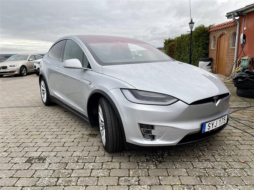 Tesla Model X 90D AWD 7-säten Autopilot1