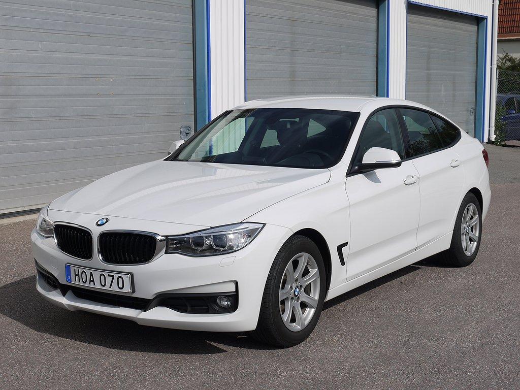BMW 320 D GT 184HK AUTOMAT DRAGKROK 5200 MIL NY SERVAD