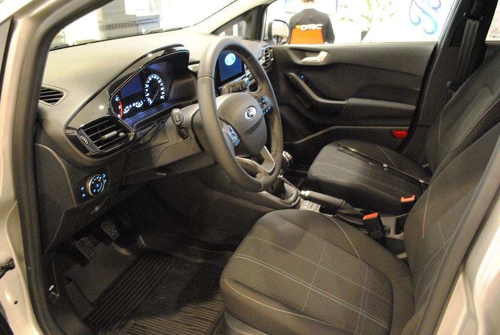 Ford Fiesta *1.95%ränta&5000kr i fritt bränsle* 1.0T EcoBoost 100hk T