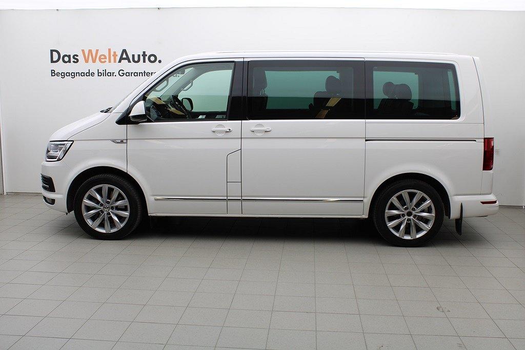 Volkswagen Multivan 2.0 DSG 199HK 4M/Navi/P-Värm/Drag/Barnstol/PDC