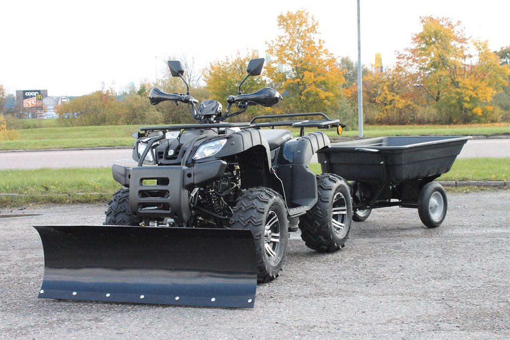 ATV Bashan Worker Bear EFI CVT 4X2 Svart