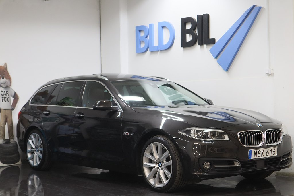 BMW 530 d XDRIVE AUTO NAVI P-RAMA D-VÄRMARE 258hk