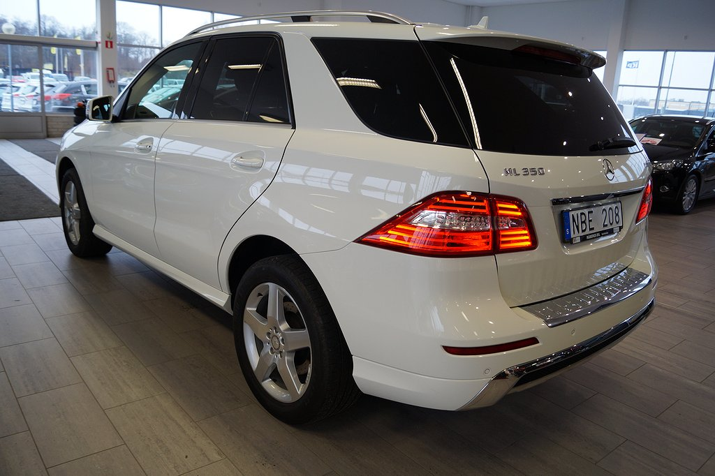 Mercedes-Benz ML 350 BlueTEC 4MATIC 7G-Tronic Plus Euro 6 258hk