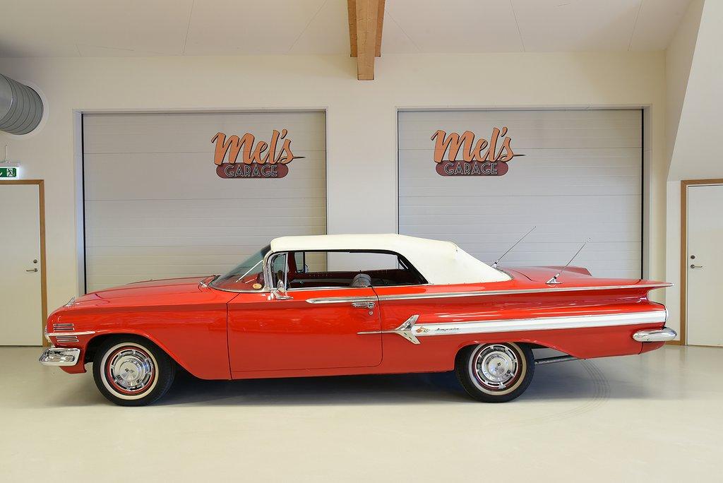 Chevrolet Impala Convertible 1960.