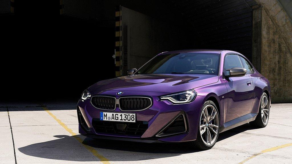 Nya 2-serie Coupé. Foto: BMW