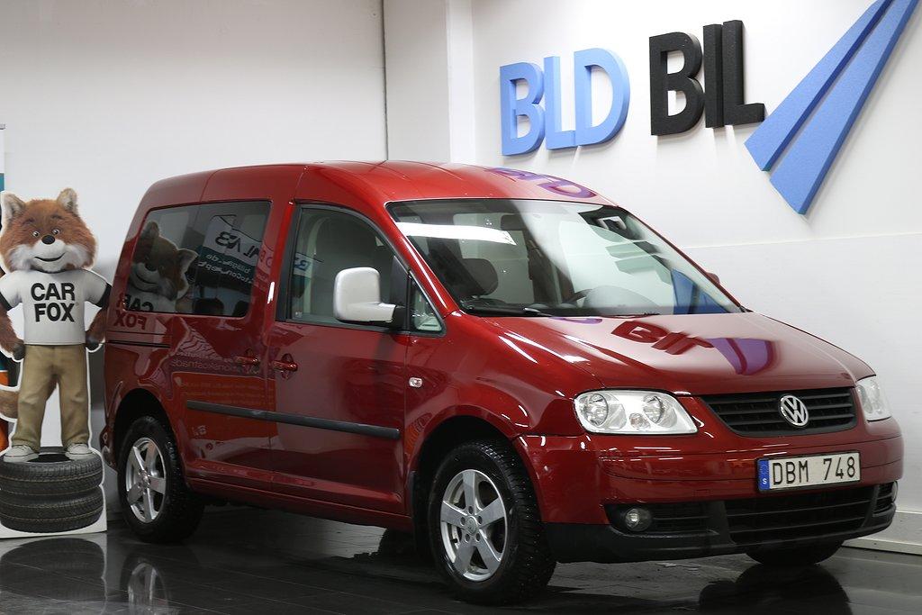 Volkswagen Caddy 1.9TDI AUTO DRAG FULLSERVAD 105hk