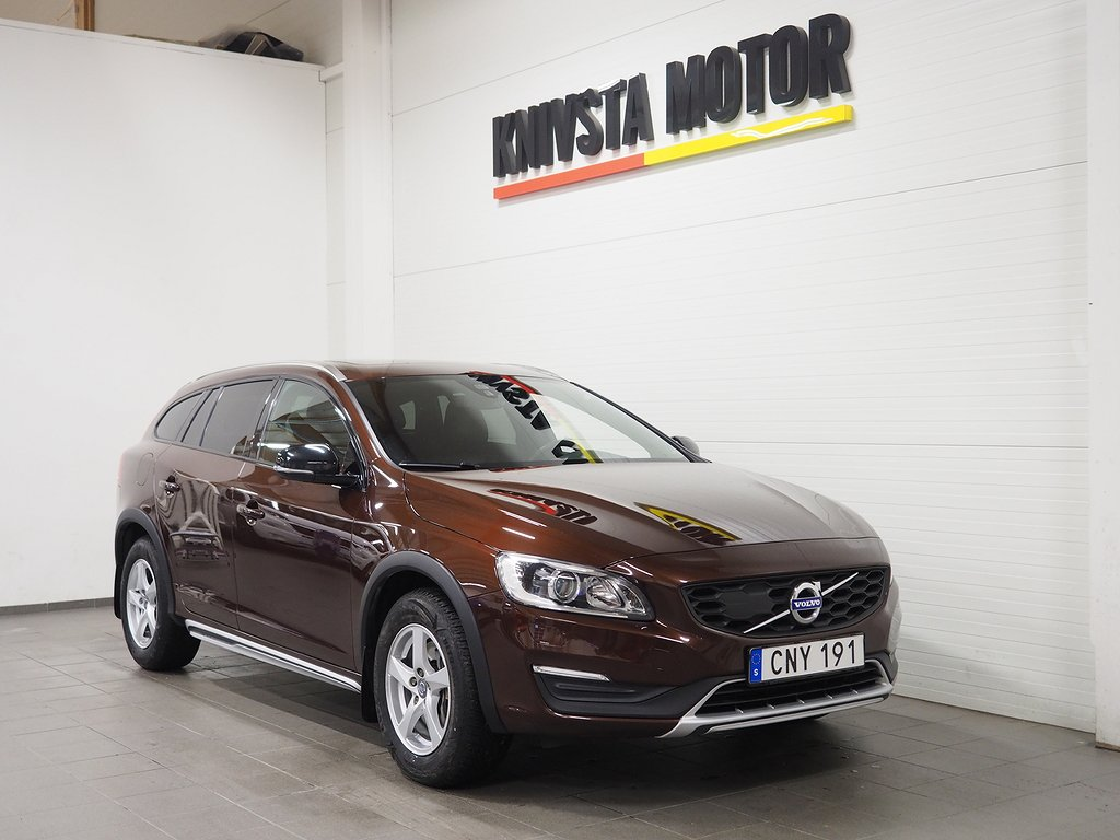 Volvo V60 Cross Country D4 AUT AWD 190hk Summum 2016