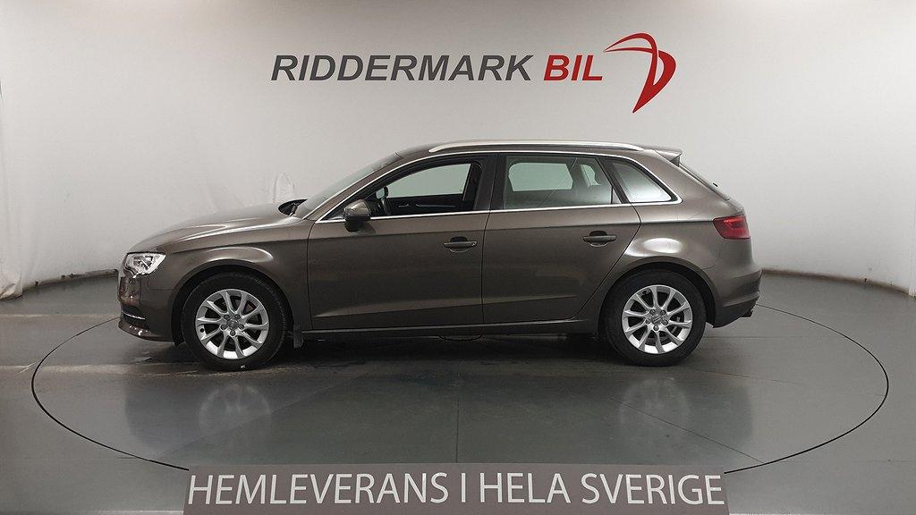 Audi A3 1.4 TFSI Sportback (125hk)