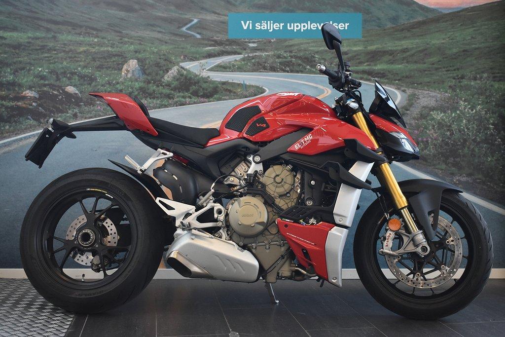 Ducati Streetfighter V4S superklipp | Kolfiber - ElitMc Göteborg