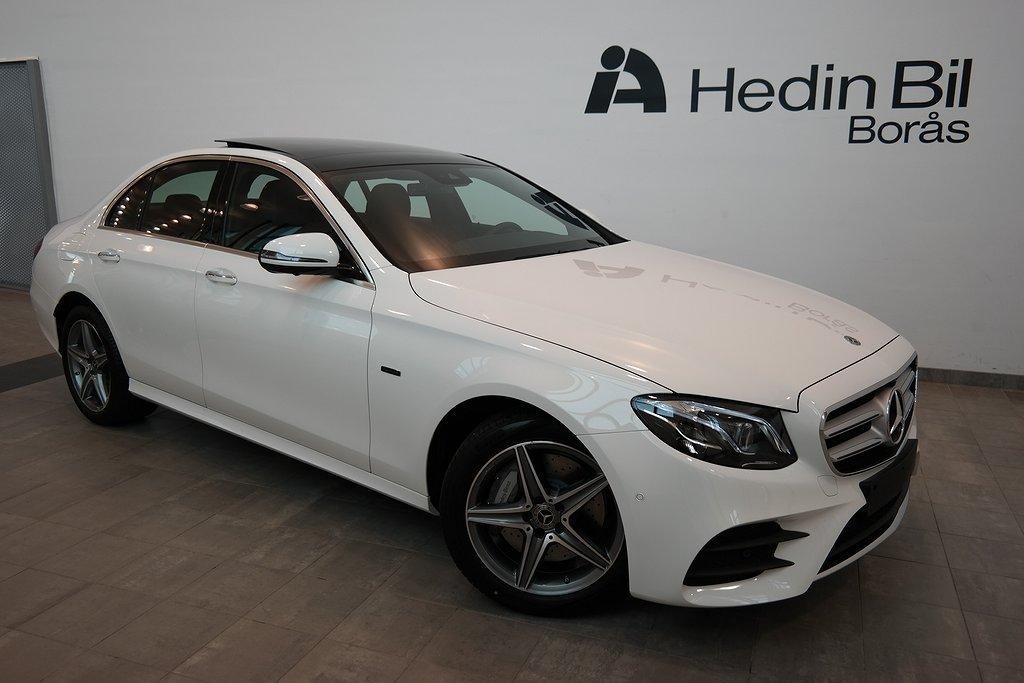 Mercedes-Benz E // AMG Line // dödvinkelvarnare // Minnespaket // Burmester // N