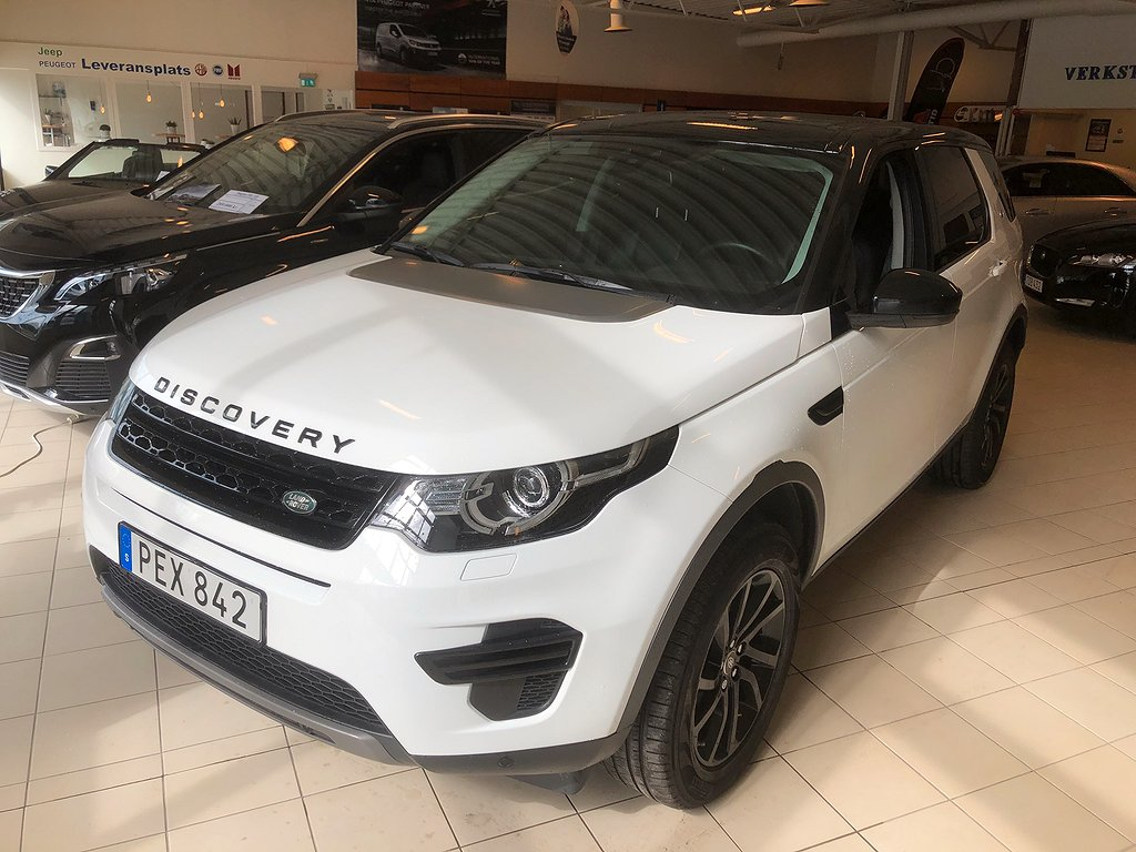 Land Rover Discovery Sport 2.0 TD4 4WD Automat Euro 6 180hk