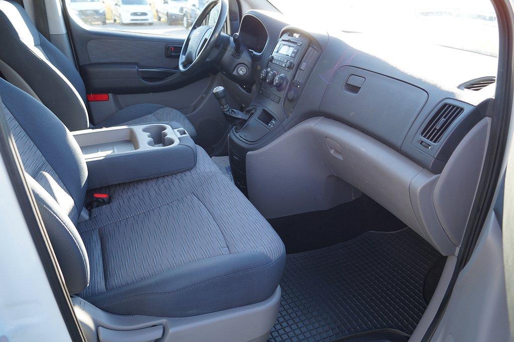 Hyundai H1 2.5 CRDi 170hk Skåp/AC/3-sits