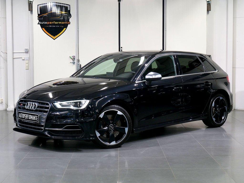 Audi S3 Sportback 2.0 TFSI QUATTRO SENSORER SV-SÅLD 300hk