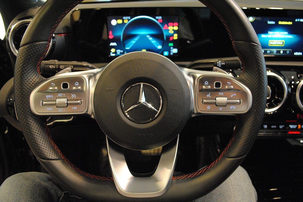 Mercedes-Benz A 200 AMG 7G-DCT 163hk*Night Package*