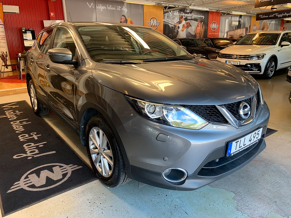 Nissan Qashqai 1.2 DIG-T XTRONIC-CVT Euro 6 115hk