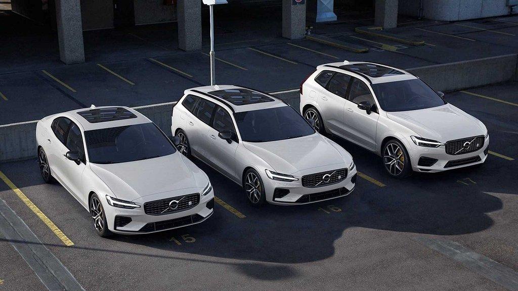 Volvo totaldominerade nybilsregistreringen under juli.
