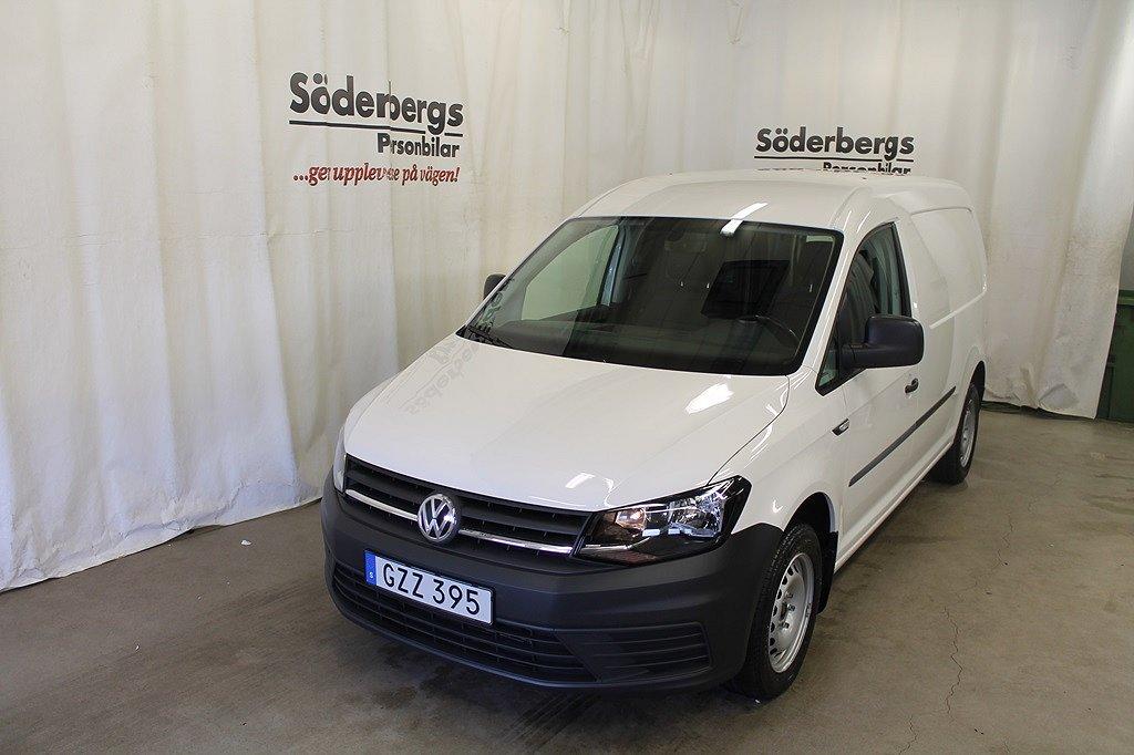 Volkswagen Caddy Maxi Skåp EU6 2.0 TDI (102hk) DSG Värmare & DRag