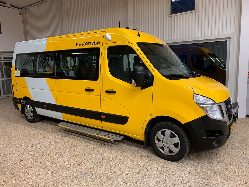 Nissan NV400 Färdtjänst buss Minibuss  2.3 dCi Euro 6 145hk