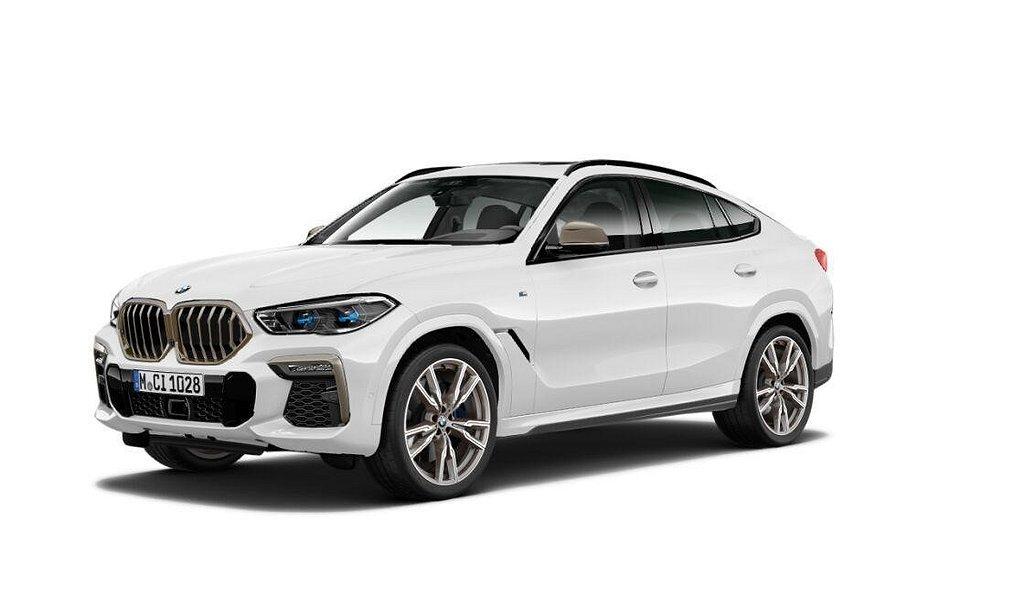 BMW X6 M50i Innovation Värmare Navi Laserljus Driving Assistant Profess