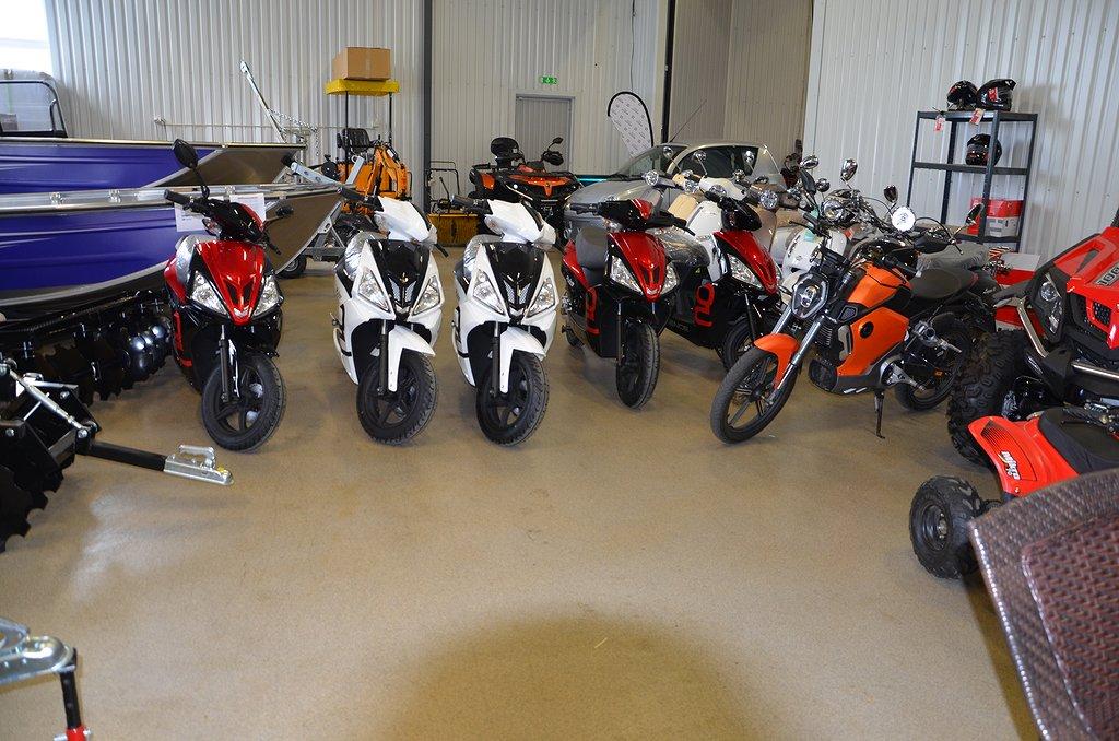 Övrigt Silence PULZE EL-moped 45km/h