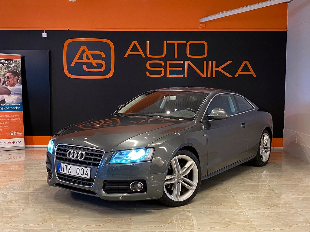 Audi A5 Coupé 2.7 TDI, S-Line, Supersprint, Automat